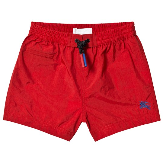 Burberry Military Red Drawcord Baby Swim Shorts A1369