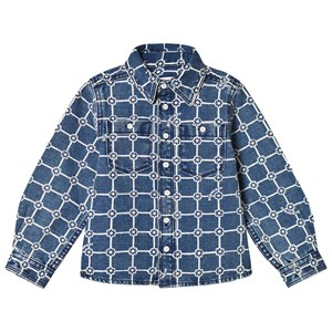 Image of Burberry Indigo Flower Print Shirt 10 years (1219961)