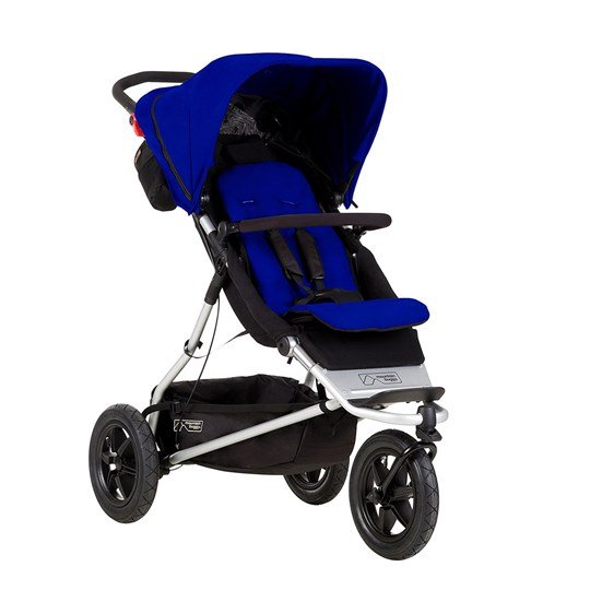 Mountain Buggy Plus One Stroller Blue Navy