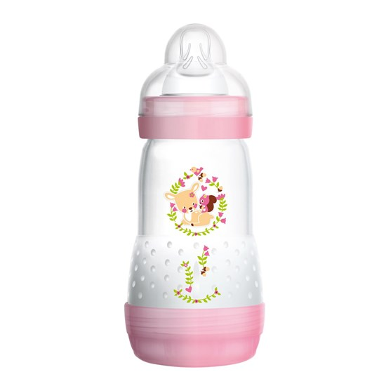 MAM Easy Start ™ Anti-Colic-bottle i Rosa 260 ml Purple