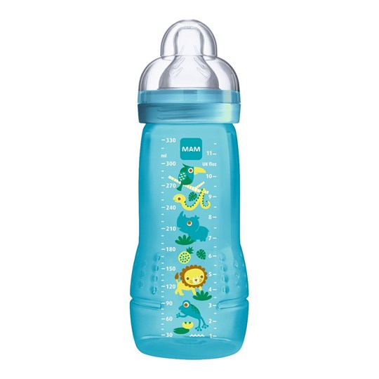 MAM Easy Active™ Baby Bottle Blue 330 ml Blue