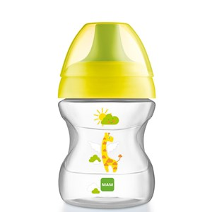 Image of MAM Learn to Drink Cup Yellow 190 ml (3125327169)
