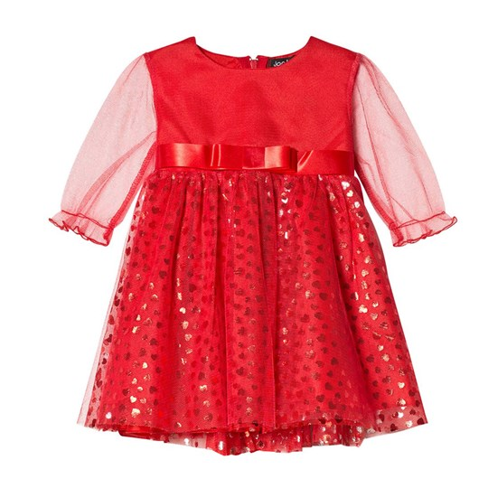 Jocko Red Baby Dress Red