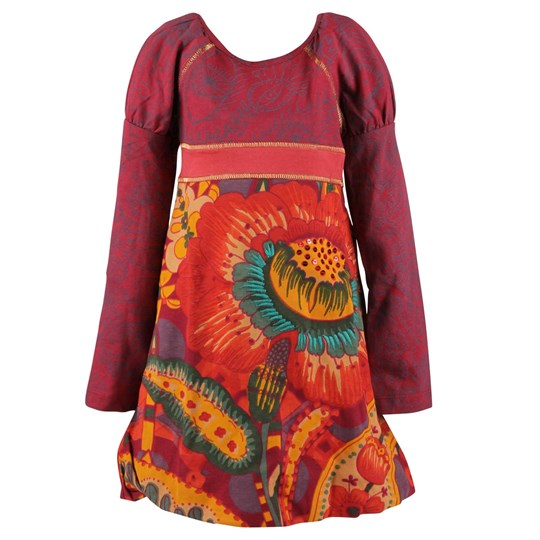 Desigual Dress Gracilis Granate Multi