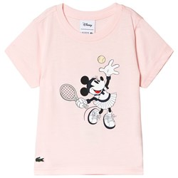 Lacoste Pink Minnie Mouse Graphic Tee