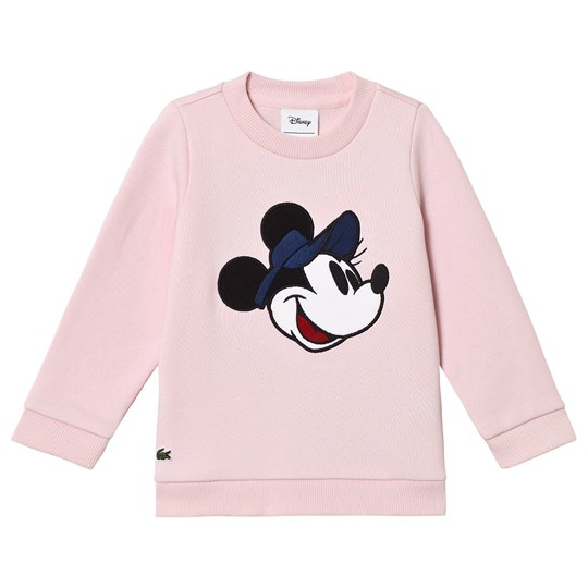 Lacoste Pink Minnie Mouse Sweatshirt T03