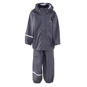 Image of Celavi Basic Rain Set Grey 90 cm (1,5-2 år) (339479)