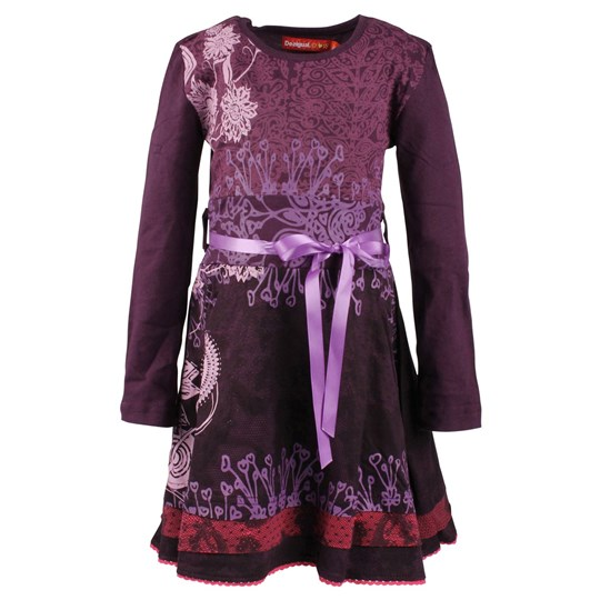Desigual Dress Nerine Violeta Purple