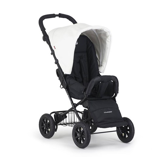 Crescent Crescent the Compact XT Air Stroller Black and White Black
