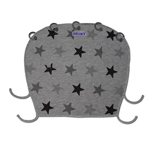 Image of Dooky Dooky Cover Grey Stars (3145733945)