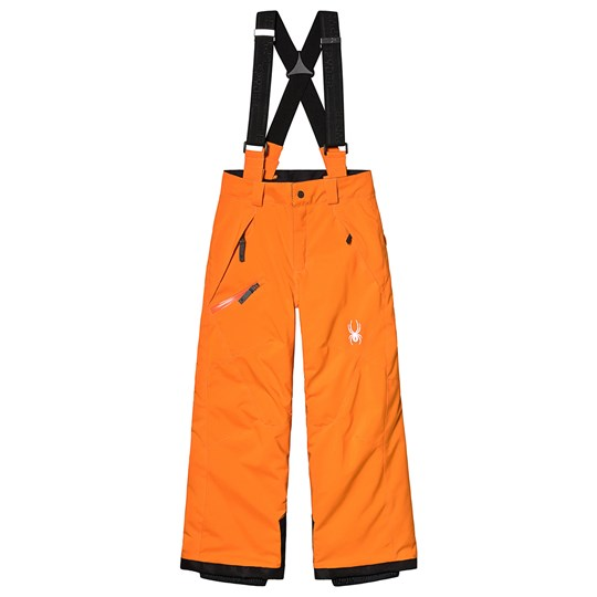 Spyder Orange Propulsion Ski Pants 826