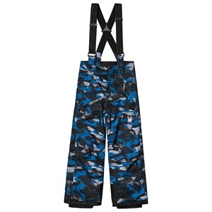 Image of Spyder Blue & Grey Camo Propulsion Ski Pants 14 years (3125272093)