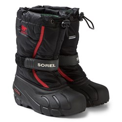 Sorel Flurry™ Boots Black and Red