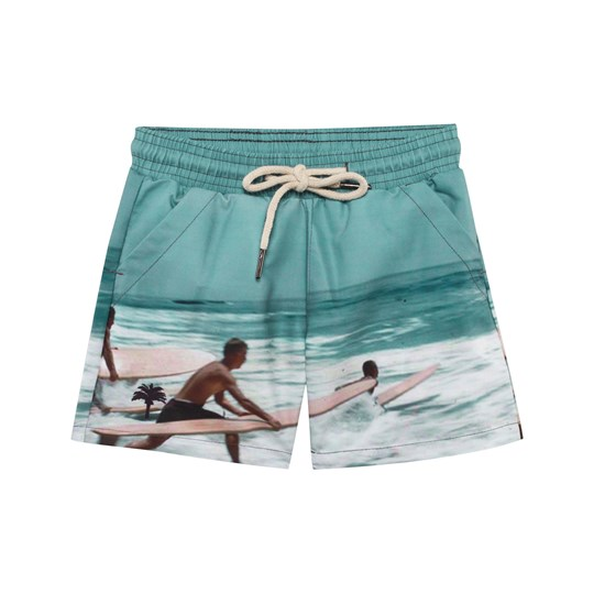 OAS Surfer Swim Trunks Multicolored