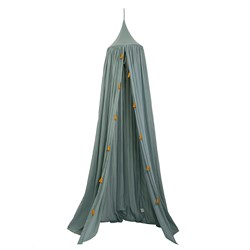 Roommate Bed Canopy Sea Grey