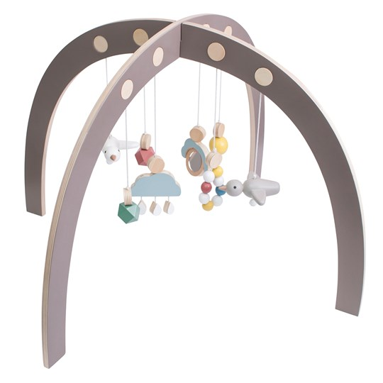 sebra Baby Gym Warm grey Sort