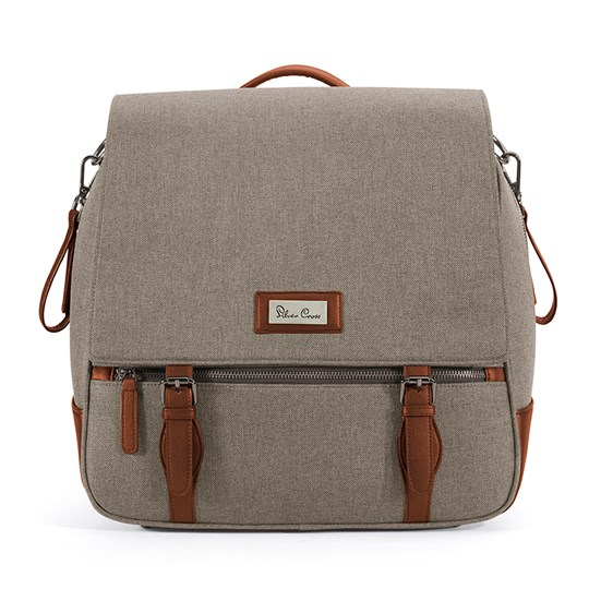 Silver Cross Wave Luxury Changing Bag Linen Linen