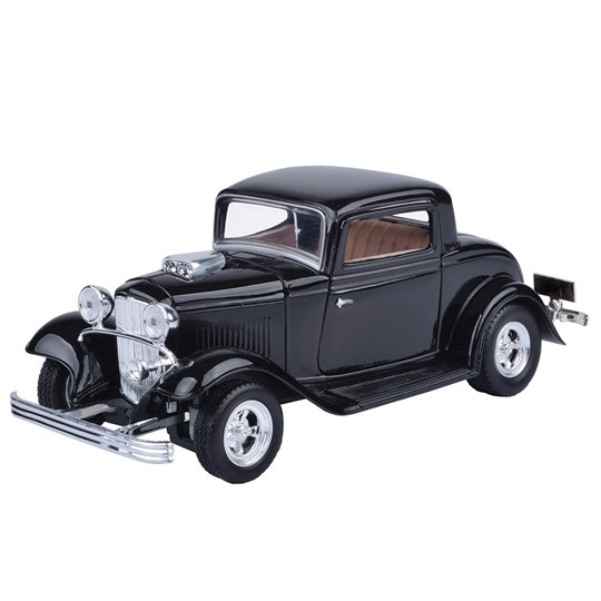 Cars Collection Classic Cars - 1932 Ford Coupé Black