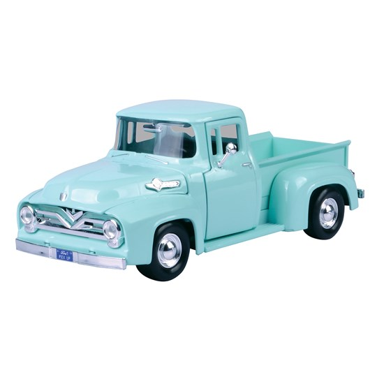 Cars Collection Classic Cars - 1955 Ford F-100 Pickup Green