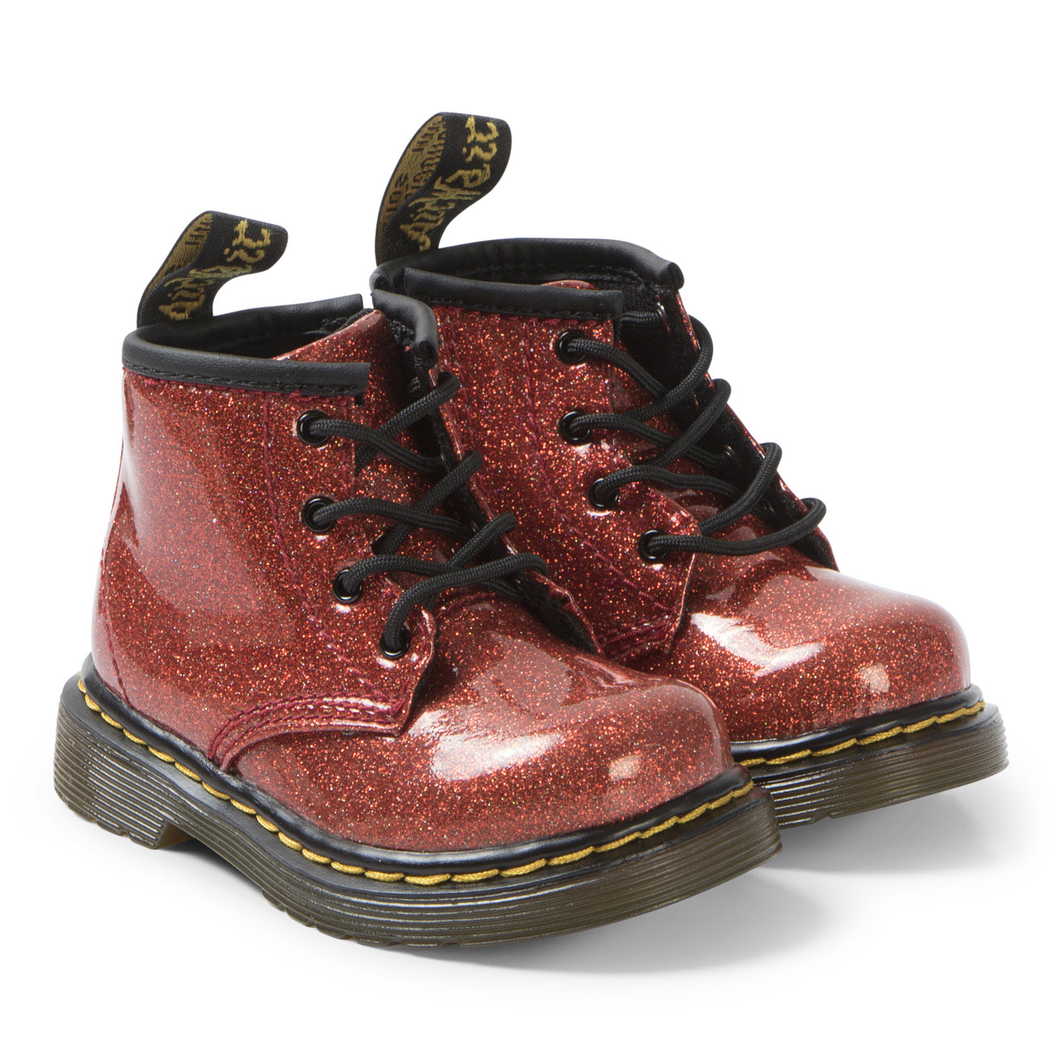 Dr. Martens - Red Glitter 1460 Boots