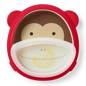 Image of Skip Hop Smart Serve™ Plate & Bowl Monkey (3145069695)