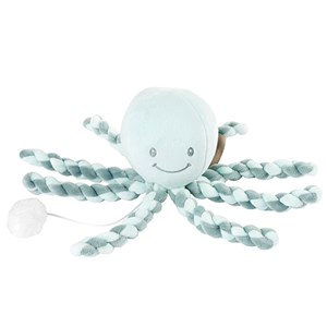 Image of Nattou Lapidou Musical Octopus Mint/Green One Size (1274649)