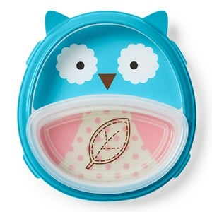 Image of Skip Hop Smart Serve™ Plate & Bowl Owl (3145069693)