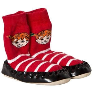 Image of Pippi Långstrump Pippi Moccasin Red 22-23 (3135227017)