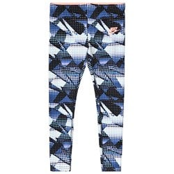NIKE Blue Printed Leggings