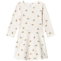 Gap Print Fit and Flare Klänning Ivory Frost IVORY FROST de595975c1706