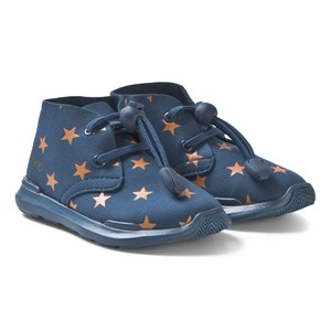 Bilde av Akid Remington Stars Shoes Blue And Orange Us 2 (uk 1, Eu 33)
