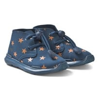 AKID Remington Stars Skor Blå och Orange BLUE AND ORANGE STARS 98b780f3caa41