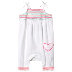 Image of Sunuva White Smock Top Jumpsuit 6-12 months (3125240945)