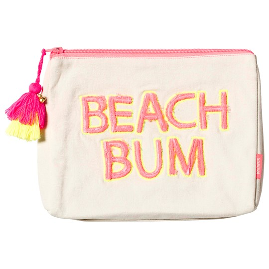 Sunuva Neon Pink Beach Wash Bag Neon Pink