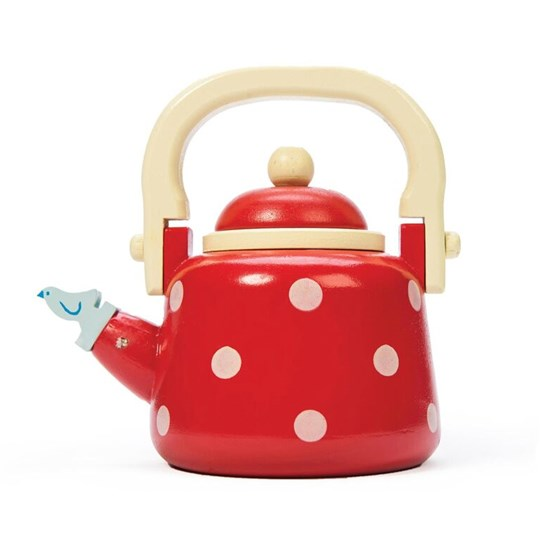 Le Toy Van Dotty Kettle Red