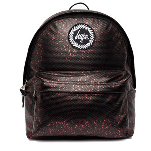 Image of Hype Black and Red Flake Backpack (3125272525)