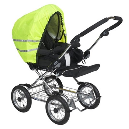 Tullsa Reflective Hood for Stroller Neon Multi