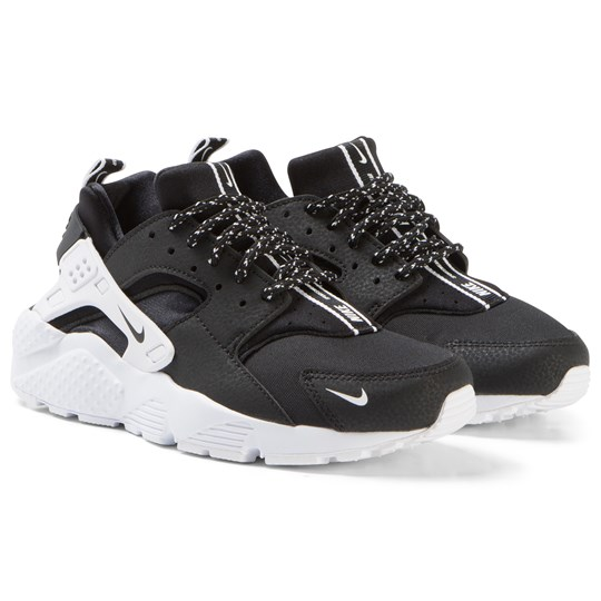 NIKE Black Nike Huarache Run SE Sneakers 006