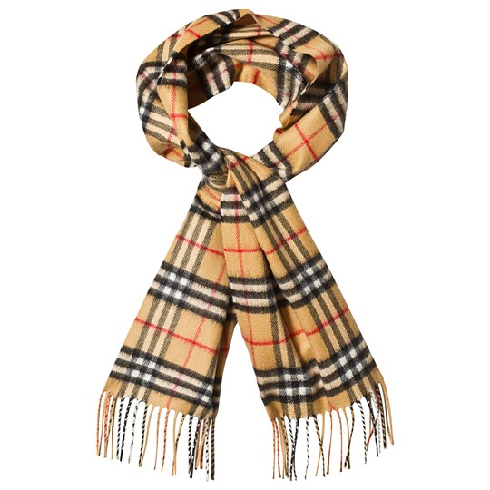 Burberry Beige Vintage Check Cashmere Scarf A5145