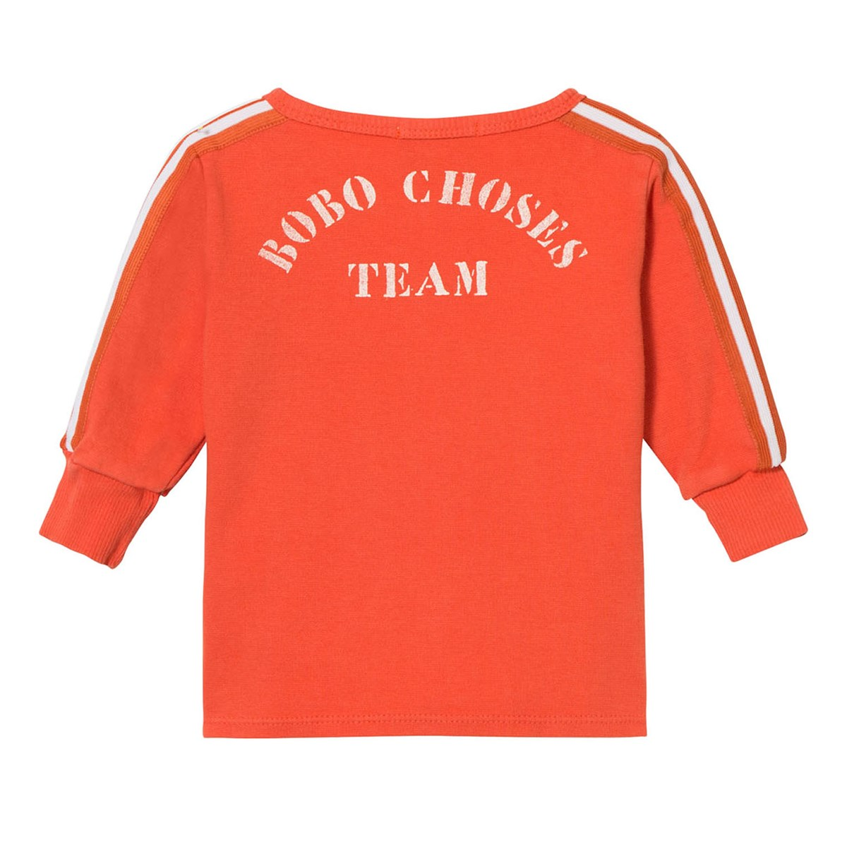 Bobo Choses B.C. Team Baby Zip Sweatshirt Red Clay
