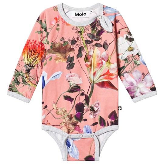 Molo Fonda Baby Body Flowers of the World Flowers Of The World