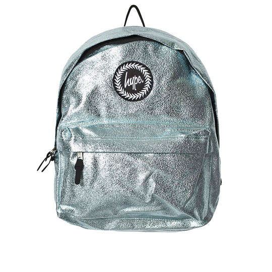 Hype Aqua Blue Foil Backpack Blue