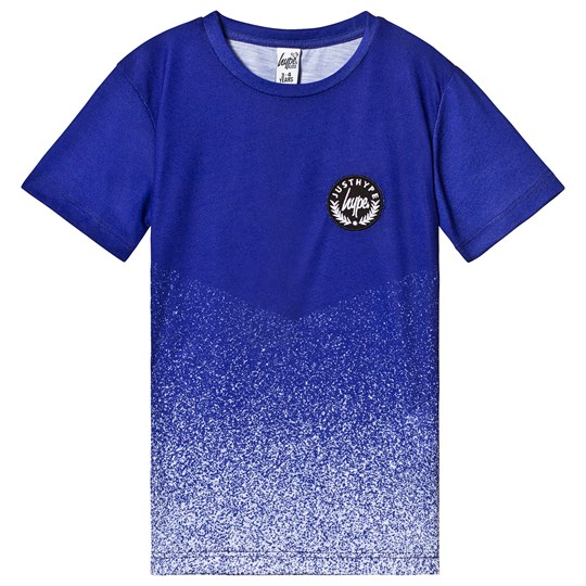 Hype Royal Blue and White Tee Navy/White