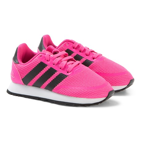 the latest dee9f 4132d adidas Originals. Pink and Black N-5923 Sneakers