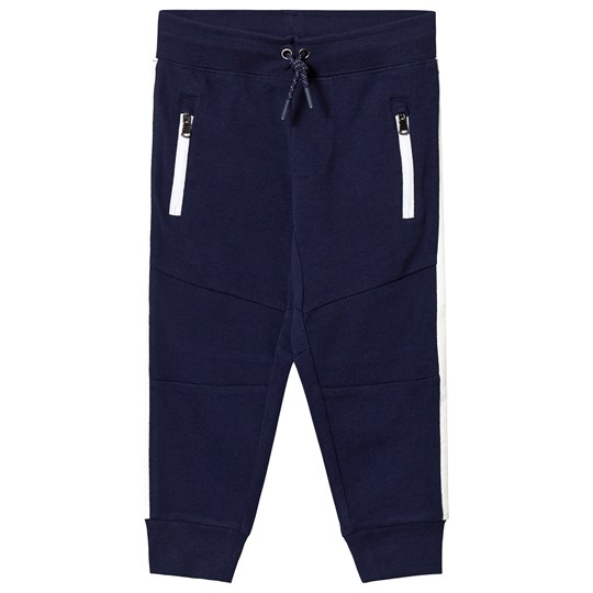 Ralph Lauren Navy Tech Pique Sweatpants 002