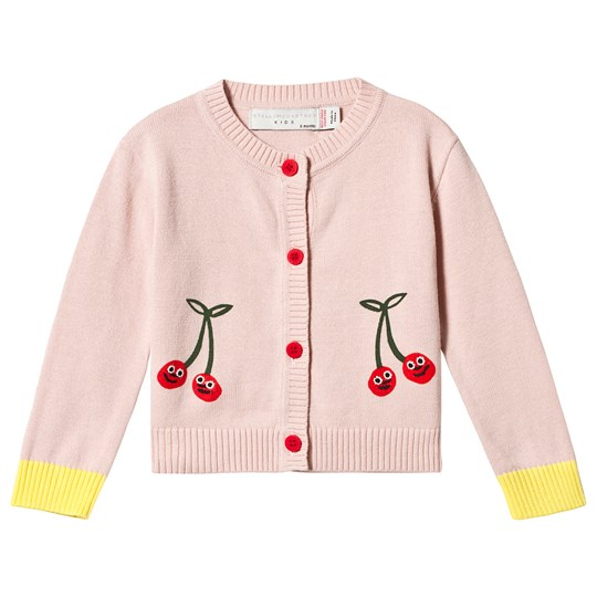 Stella McCartney Kids Smiley Cherries Kofta Rosa 5769 - Pearl Pink