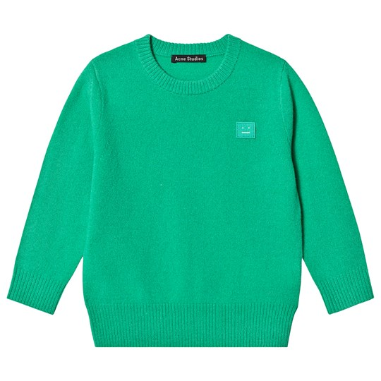 Acne Studios Свитер Mini Nalon F Sharp Green Sharp green