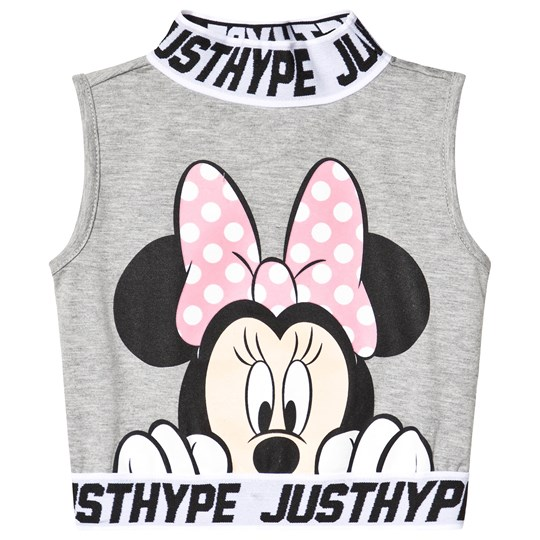 Hype Grey Hype x Disney Minnie Mouse Top Grey/multi