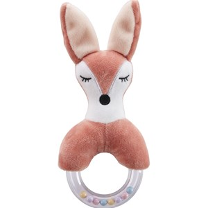 Image of Kids Concept Fox Character Teething Rattle One Size (466882)