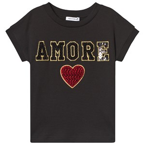 Image of Dolce & Gabbana Amore-T-shirt Sort 12 years (3125341629)